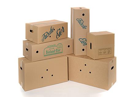 Umverpackungen für Eier
